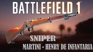 martini henry bf1 battlefield 1 ps4 mano essa sniper é um canhão martini