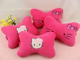 kitty pink car neck pillow 5 1 2016 10 15