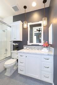 Paint Bathroom Cabinets by Best 25 Dark Gray Bathroom Ideas On Pinterest Gray And White