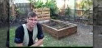 Raised Garden Beds From Pallets - how to build a raised garden bed out of old pallets