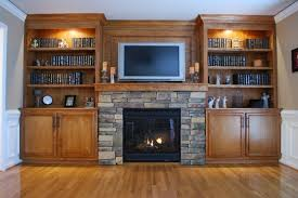 Fireplace With Built In Cabinets Built In Fireplace Built In Shelves Around Fireplace Google