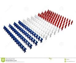 french people france flag stock images image 628434