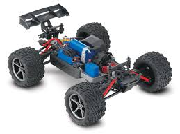 rc monster truck racing traxxas 71076 3 silv 1 16 e revo vxl brushless 4x4 silver racing