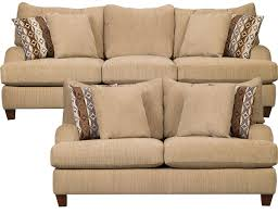 alexa chenille sofa loveseat beige