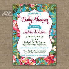 outstanding hawaiian themed baby shower invitations 31 for baby