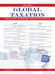global taxation may 2016