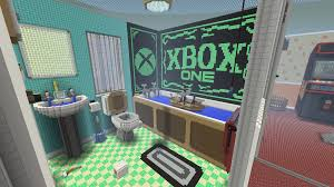 Minecraft Bathroom Designs My Minecraft Xbox One Album On Imgur