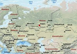 map of kazan kazan russia pictures and and news citiestips