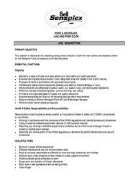 restaurant cashier job description resume http resumesdesign