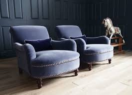 george smith armchair pair of george smith jules armchairs in designers guild velvet rrp