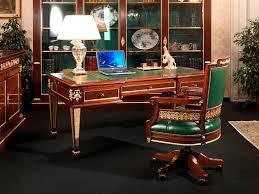Empire Style Interior Leather Desk Empire Style Ermitage Vimercati Meda Luxury