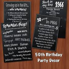 Centerpieces 50th Birthday Party by 50th Birthday Party Decor Fun Facts 60 U0027s Themed Party 50th