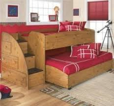 Double Loft Bed Wood Bunk Bed Kids Rooms With Double Loft Beds - Wooden bunk bed designs