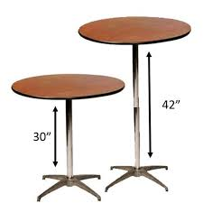 Round Table Rentals by 36 Inch Round Short Bistro Table Rentals Tulsa Ok Where To Rent