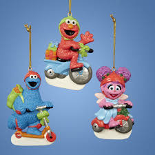club pack of 12 sesame elmo cookie and abby on