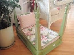 dog beds made out of end tables dog bed or doll bed made from a turned over end table by jami diy