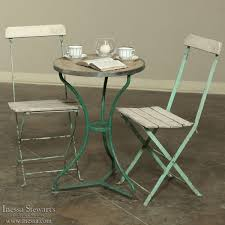 Vintage Bistro Chairs Cafe Table And Chairs Beautiful Charming Vintage Bistro