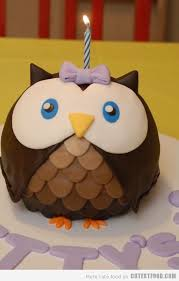 cute owl cake cutestfood com