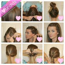 easy hairstyles to do at home step by step archives best haircut