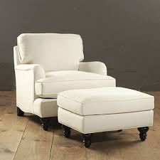 Living Room Chair And Ottoman Sanblasferry - Chairs with ottomans for living room