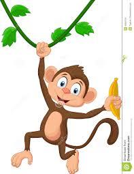 hanging monkey cartoon group 65