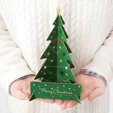 aliexpress com buy diy 3d christmas cards handmade christmas