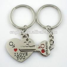 metal key rings images Hot sell valentine 39 s day gift key to my heart zinc alloy metal key jpg