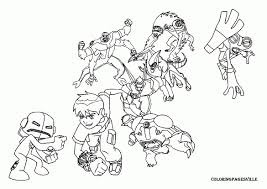 ben ten coloring pictures ben 10 ultimate alien coloring pages