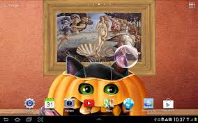 halloween note 7 background cute halloween live wallpaper android apps on google play