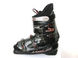 womens boots 25 lange concept 65 s ski boots black size mondo 25 us 8