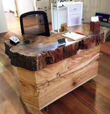Modern Reception Desk For Sale by Timber Reception Desks Time 4 Timber