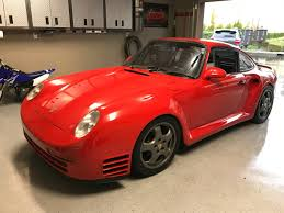 custom porsche 959 959 kitted u0026 sbc swapped 1975 porsche 911 bring a trailer