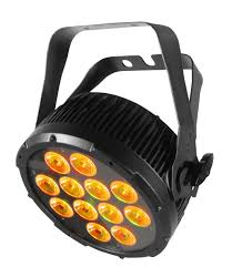 Hex Color Yellow by Chauvet Colordash Par Hex 12 Rgbaw Uv Leds Lighting Fixture With