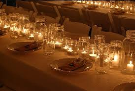 jar center pieces candles in jars centerpieces budget brides guide a