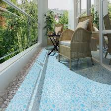 300x300mm rustic polished crystal tile mediterranean balcony tiles
