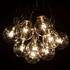 Led Wire String Lights by Outdoor Beautiful Led Globe String Lights Super Bright But