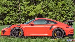 porsche gt3 rs 2016 2016 porsche 911 gt3 rs test drive vidéo dailymotion