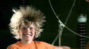 hair generator static electricity hair raising van de graaff hd youtube