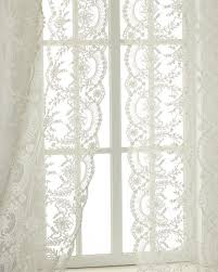 Lace Curtain Chantilly Lace Curtains
