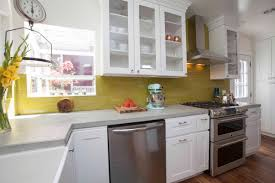 ways make small kitchen sizzle diy color big