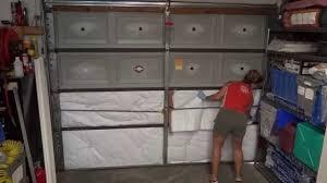 how to insulate garage door ideas image of insulate garage door diy designs ideas