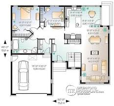 6 Bedroom Bungalow House Plans House Plan W3217 Detail From Drummondhouseplans Com