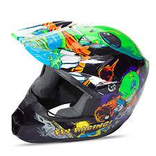 youth xs motocross helmet children s motocross helmet fly racing kinetic youth invasion