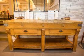 antique butcher block legs wonderful furniture for kitchen using