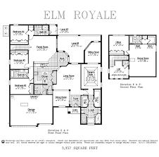 Dr Horton Floor Plans by Elm Royale Stonebriar At Bayside Lakes Palm Bay Florida