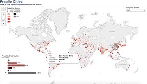 world cities on map how fragile are our cities world economic forum