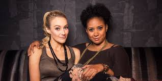 Interacial Lesbians - betsy wolfe tracie thoms on playing the lesbians next door in