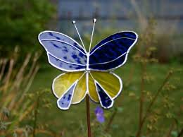 143 best stained glass butterfly images on glass