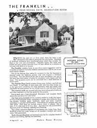 sears homes floor plans sears homes house plans 1937 3405 small 1940s cottage era 1940