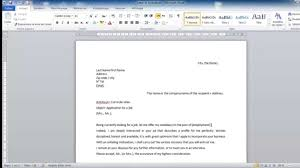 how to write a cover page for a resume how to write a cover letter for job youtube